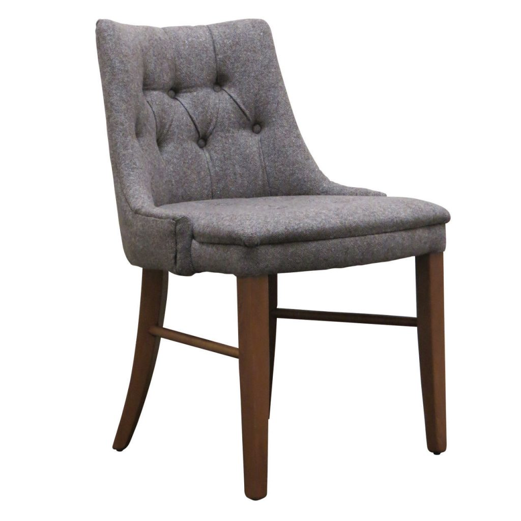 Byron chair Button back upholstered chair