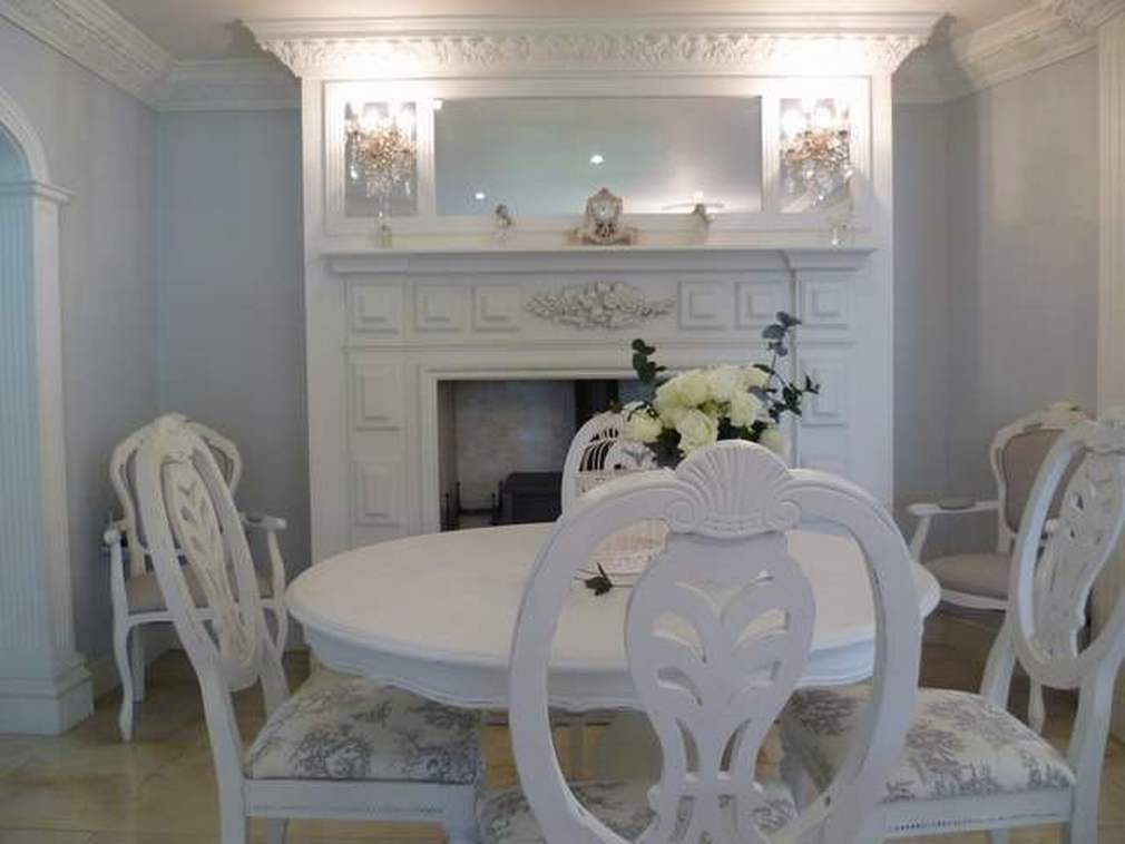 French inspired table and chairs